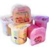Nuevo diseño de yogur sabores