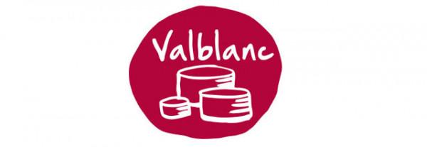 Diseño de marca para quesos rallados Valblanc