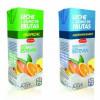 Diseño linea de refresco leche + frutas