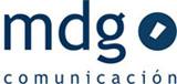 logo mdg comunicación